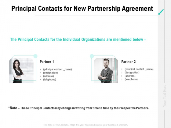 Collaboration_Agreement_Principal_Contacts_For_New_Partnership_Agreement_Ppt_Styles_Show_PDF_Slide_1