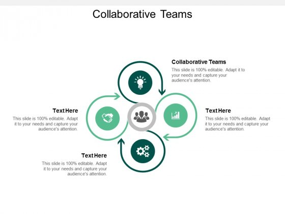 Collaborative Teams Ppt PowerPoint Presentation Infographics Master Slide Cpb