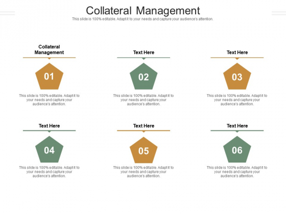 Collateral Management Ppt PowerPoint Presentation Infographic Template Professional Cpb Pdf