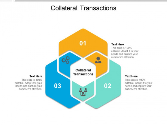 Collateral Transactions Ppt PowerPoint Presentation Styles Slideshow Cpb Pdf