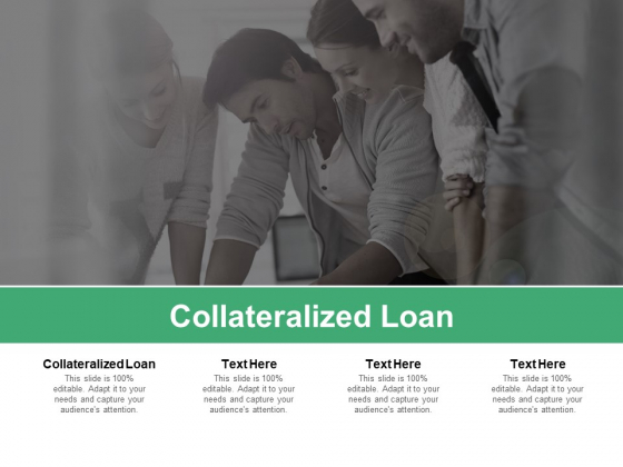 Collateralized Loan Ppt PowerPoint Presentation Model Gallery Cpb Pdf