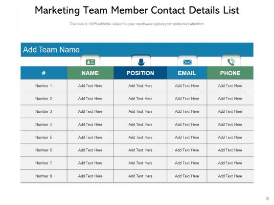 Colleague_List_Project_Infographic_Ppt_PowerPoint_Presentation_Complete_Deck_Slide_3