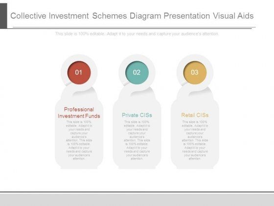 Collective Investment Schemes Diagram Presentation Visual Aids 1 2
