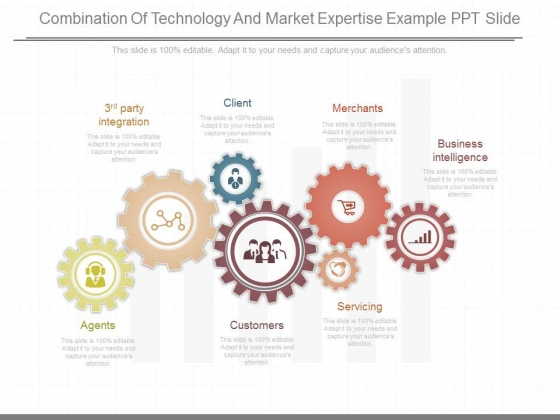 Combination Of Technology And Market Expertise Example Ppt Slide
