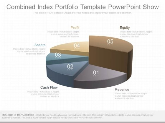 Combined Index Portfolio Template Powerpoint Show