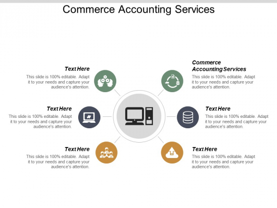 Commerce Accounting Services Ppt PowerPoint Presentation Show Format Ideas Cpb