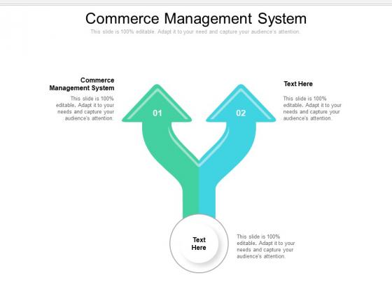 Commerce Management System Ppt PowerPoint Presentation Summary Slide Portrait Cpb Pdf