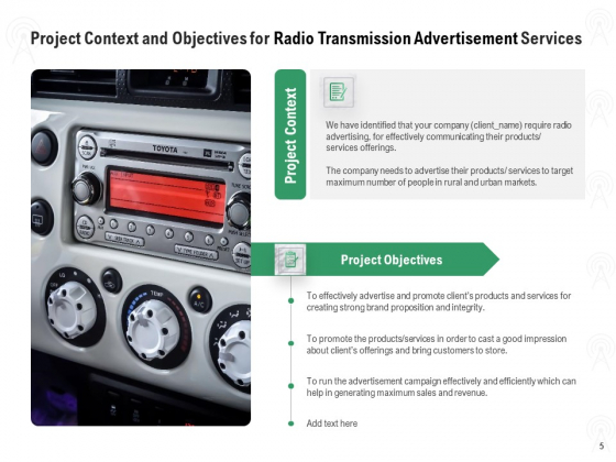 Commercial_Broadcasting_Proposal_Ppt_PowerPoint_Presentation_Complete_Deck_With_Slides_Slide_5