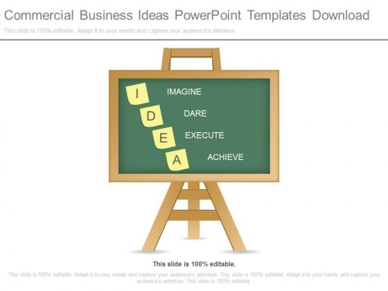 Commercial Business Ideas Powerpoint Templates Download