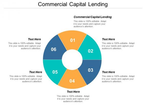 Commercial Capital Lending Ppt PowerPoint Presentation Model Guide