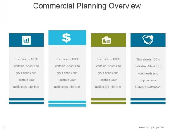 Commercial Planning Overview Ppt PowerPoint Presentation Guide