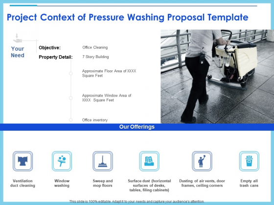 Commercial Pressure Washing Contract Template Project Context Of Pressure Washing Proposal Template Mockup PDF