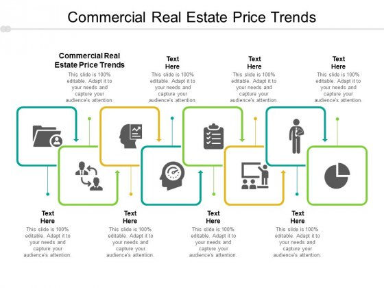 Commercial Real Estate Price Trends Ppt PowerPoint Presentation Pictures Elements Cpb