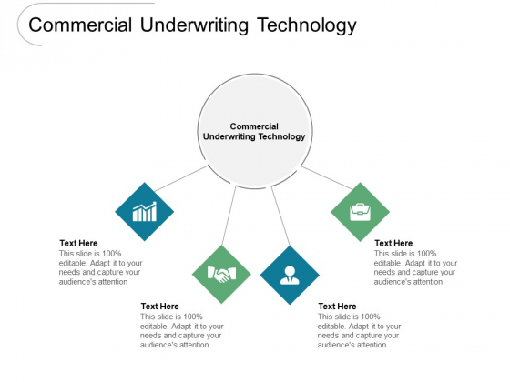 Commercial Underwriting Technology Ppt PowerPoint Presentation Ideas Templates Cpb Pdf