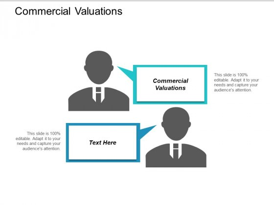 Commercial Valuations Ppt PowerPoint Presentation Model Mockup Cpb