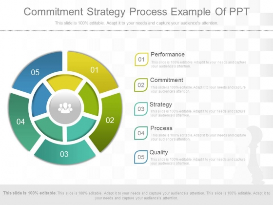 Commitment Strategy Process Example Of Ppt