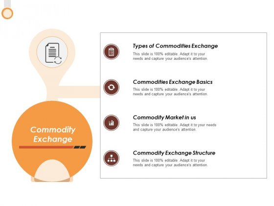 Commodity Exchange Ppt PowerPoint Presentation Slides Slideshow