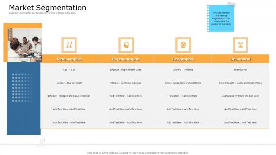 Commodity Unique Selling Proposition Market Segmentation Graphics PDF