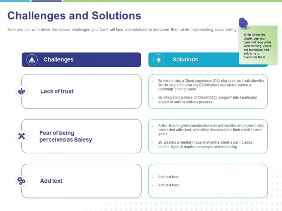 Commodity Up Selling Challenges And Solutions Ppt Infographics Model PDF