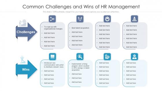 Common_Challenges_And_Wins_Of_HR_Management_Ppt_PowerPoint_Presentation_Icon_Portfolio_PDF_Slide_1