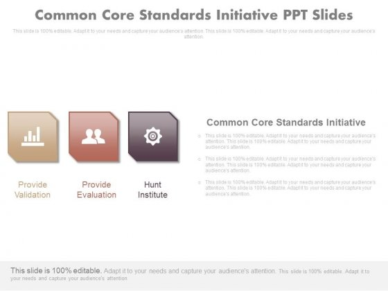 Common Core Standards Initiative Ppt Slides