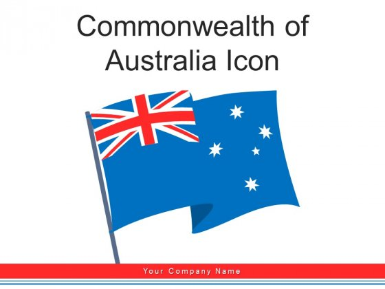 Commonwealth Of Australia Icon Circular Ppt PowerPoint Presentation Complete Deck