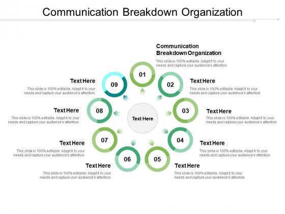 Communication Breakdown Organization Ppt PowerPoint Presentation Styles Icons Cpb