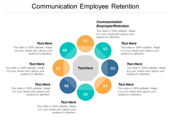 Communication Employee Retention Ppt PowerPoint Presentation Summary Ideas Cpb