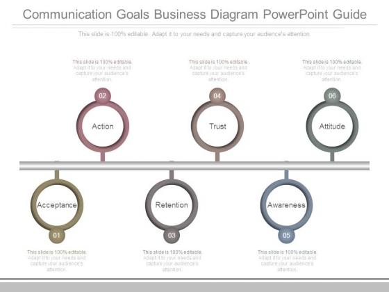 Communication Goals Business Diagram Powerpoint Guide