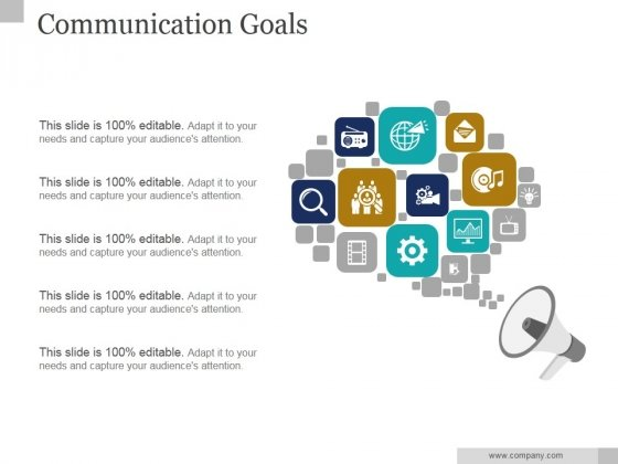 Communication Goals Ppt PowerPoint Presentation Introduction