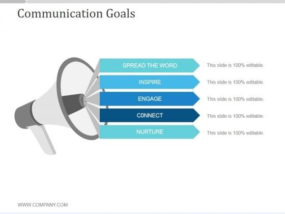 Communication Goals Slide2 Ppt PowerPoint Presentation Templates