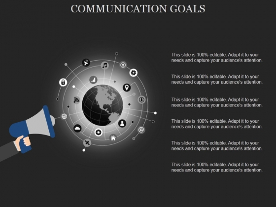 Communication Goals Template 2 Ppt PowerPoint Presentation Infographics File Formats