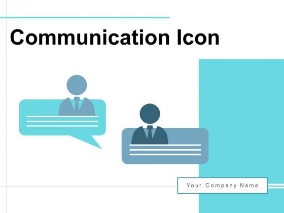 Communication Icon Employee Speech Ppt PowerPoint Presentation Complete Deck