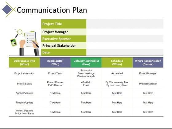 communication plan ppt powerpoint presentation portfolio graphics