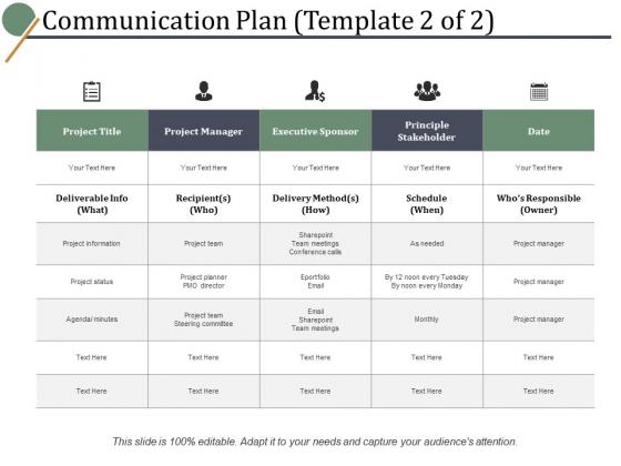 Communication Plan Project Team Ppt PowerPoint Presentation Show Layout Ideas