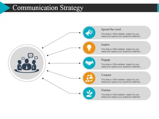 Communication Strategy Ppt Powerpoint Presentation Slides Clipart