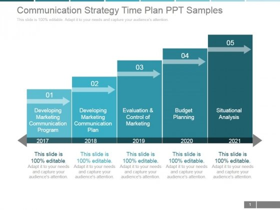 Communication Strategy Time Plan Ppt PowerPoint Presentation Shapes