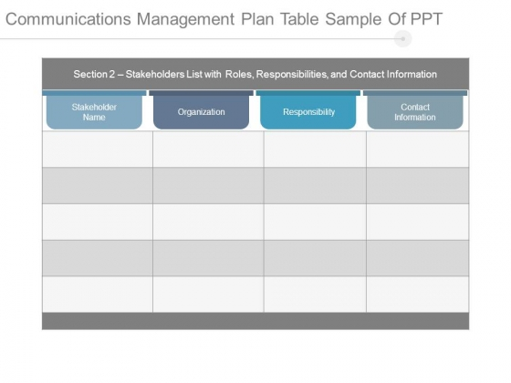 Communications_Management_Plan_Table_Sample_Of_Ppt_1