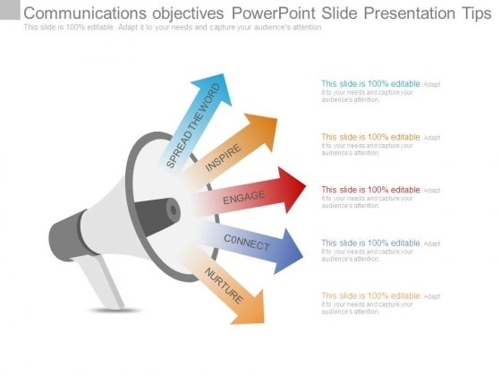 Communications Objectives Powerpoint Slide Presentation Tips