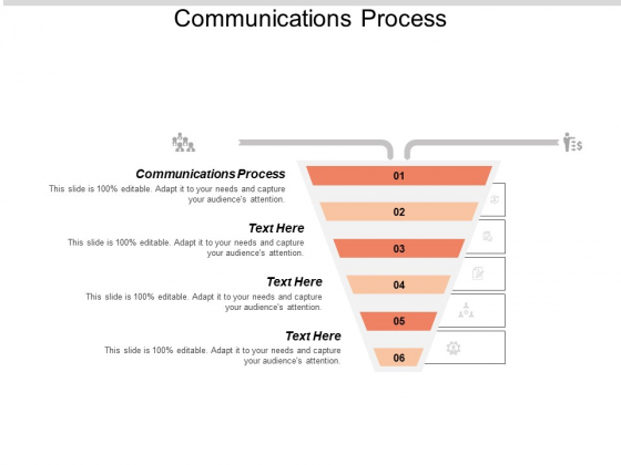 Communications Process Ppt PowerPoint Presentation Infographics Graphics Tutorials Cpb
