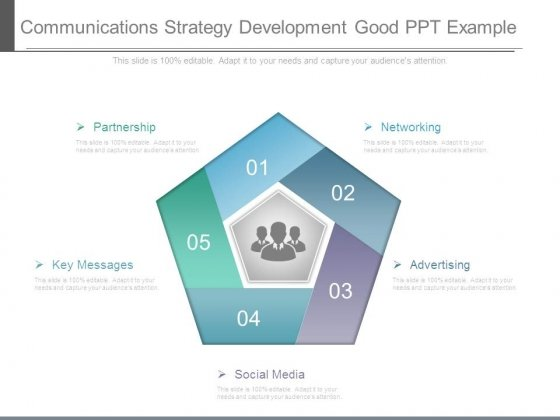 Communications Strategy Development Good Ppt Example