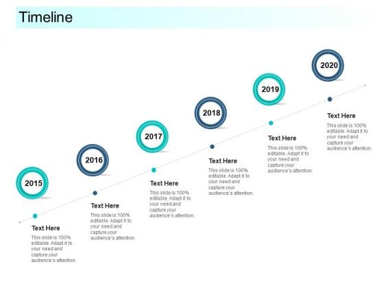 Community Capitalization Pitch Deck Timeline Information Pdf