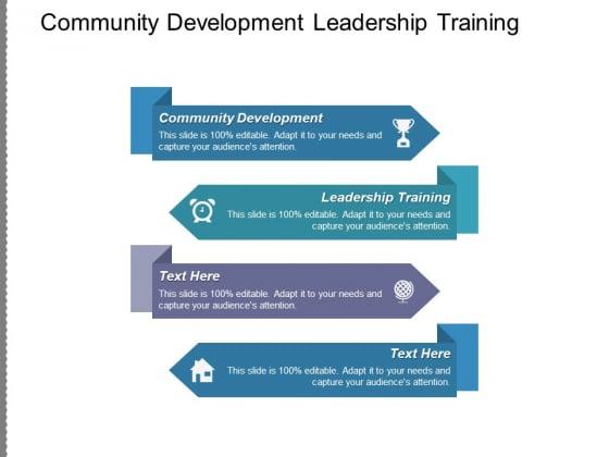 Community Development Leadership Training Ppt PowerPoint Presentation File Inspiration