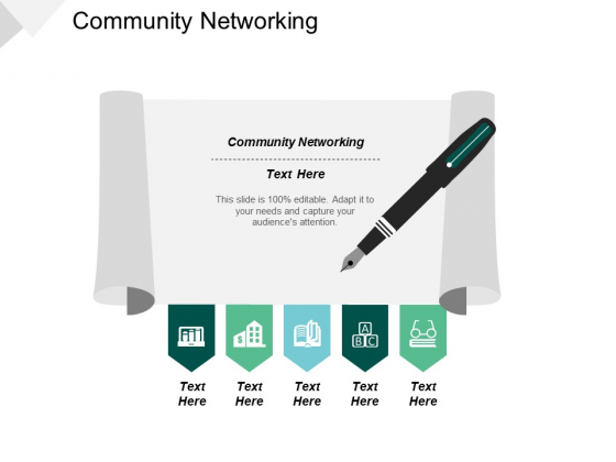 Community Networking Ppt PowerPoint Presentation Show Slide Portrait Cpb