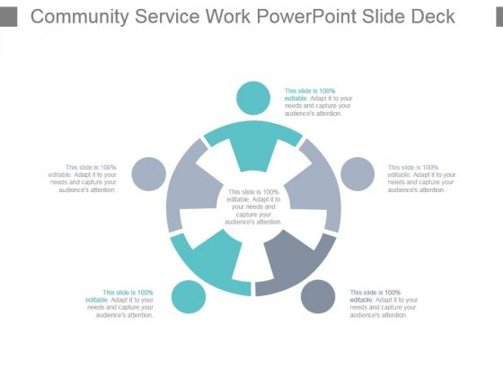 Community Service Work Powerpoint Slide Deck