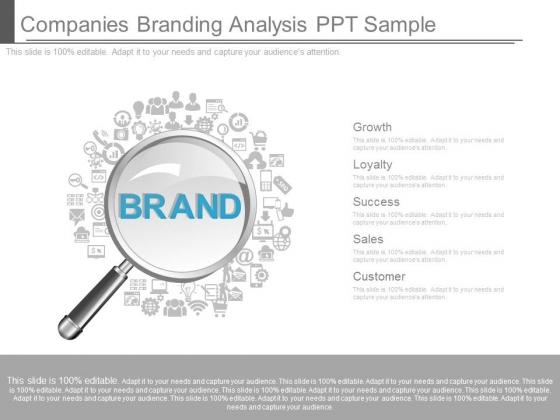 Companies Branding Analysis Ppt Sample