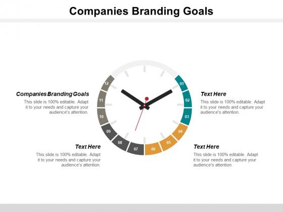 Companies Branding Goals Ppt PowerPoint Presentation Show Slide Portrait