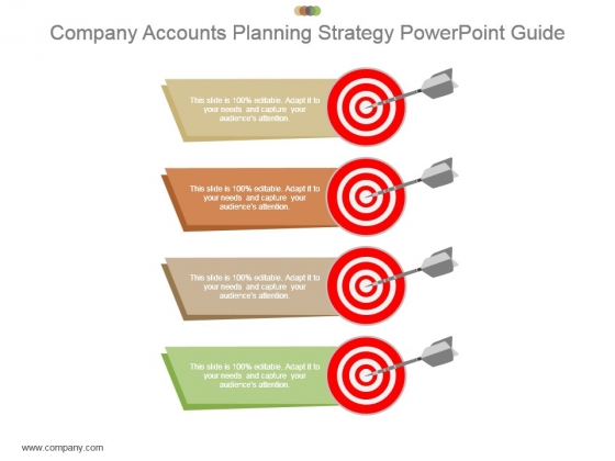 Company Accounts Planning Strategy Powerpoint Guide