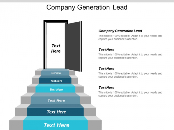Company Generation Lead Ppt PowerPoint Presentation Infographic Template Background Images