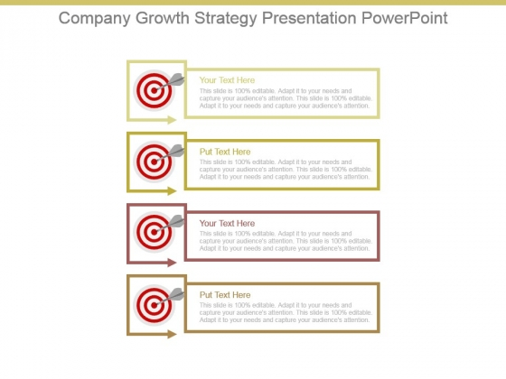 Company Growth Strategy Presentation Powerpoint